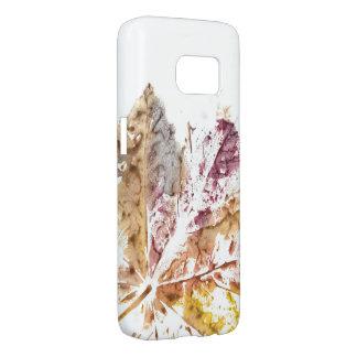 Leaf print phone case Hülle