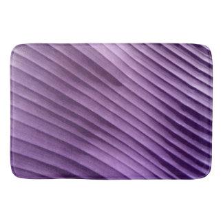 Leaf Purple Diagonal Bathroom Mat