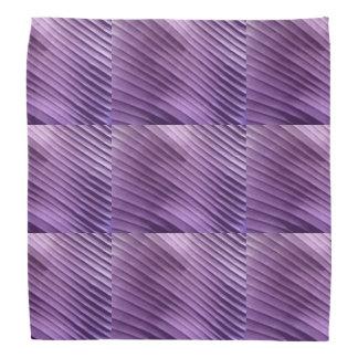 Leaf Purple Diagonal Kerchief