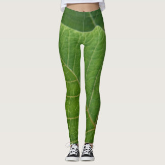 Leaf put-went leggings