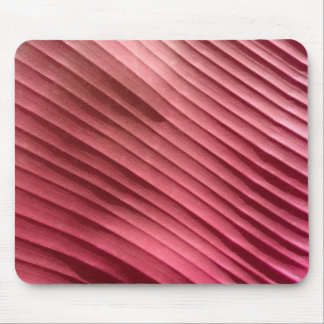 Leaf Red Diagonal Mouse Pad