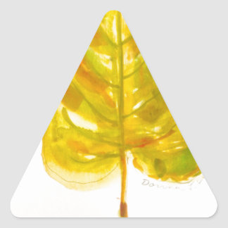 Leaf Triangle Stickers