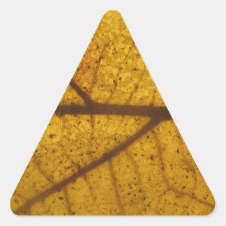 Leaf Triangle Stickers