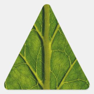 Leaf Triangle Sticker