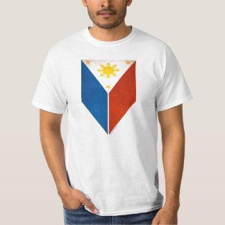Leaf style Philippines flag T-Shirt