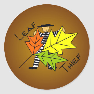 Leaf Thief Stickers for Composters
