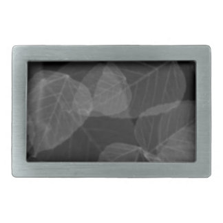 Leaf X-Ray Belt Buckle