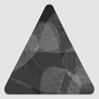 Leaf X-Ray Triangle Sticker