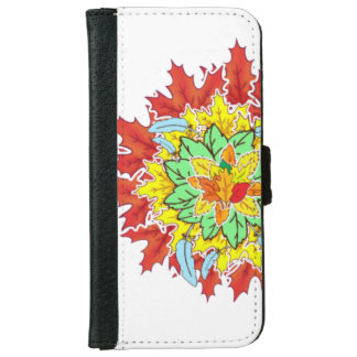 Leafs in Life iPhone 6 Wallet Case