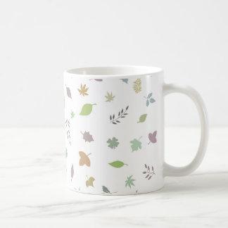 Leafs Basic White Mug