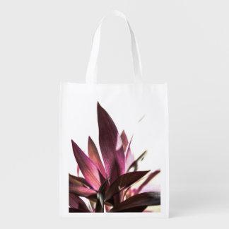 leafs reusable grocery bag