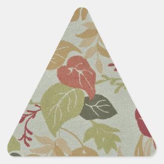 leafs triangle sticker