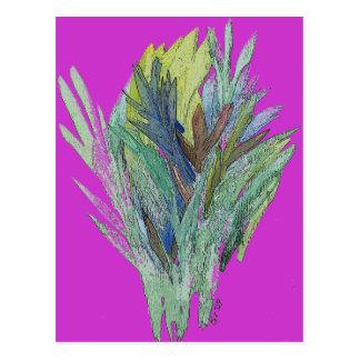 Leafy Bouquet Postcard