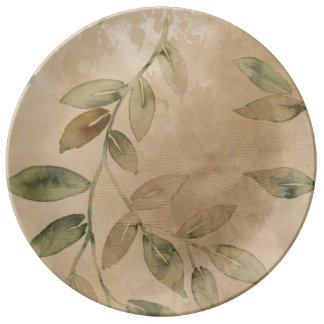 Leafy Branch Plate