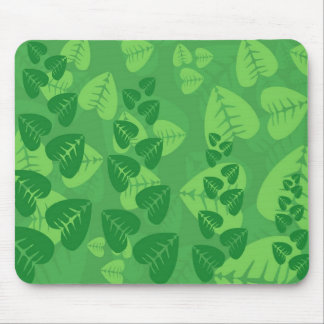 Leafy Chaos Mouse Pad