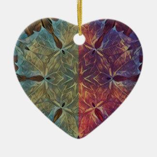 Leafy Gal Ceramic Ornament