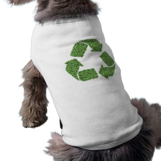 Leafy Recycle Symbol Doggie Tee Shirt