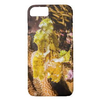 Leafy Scorpionfish on the Great Barrier Reef iPhone 7 Case