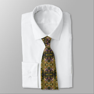 Leafy Tapestry Tie
