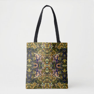 Leafy Tapestry Tote Bag