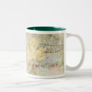 Leafy Thanksgiving Coffee Mug