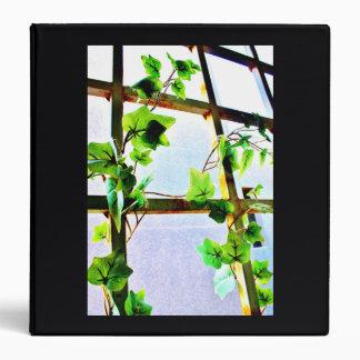 Leafy Window Vinyl Binder