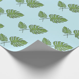 Leafy Wrapping Paper