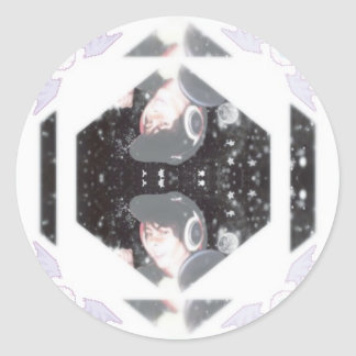 Leafyishere Classic Round Sticker