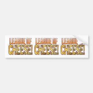 League Of Blue Cheese Bumper Sticker