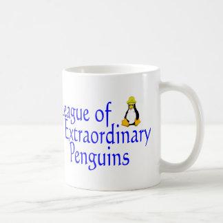 League of Extraordinary Penguins 4 Coffee Mug