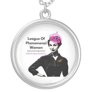League of Phenomenal Women OFFICIAL Silver Plated Necklace