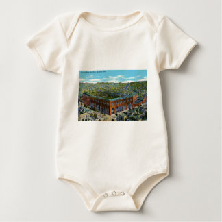 League Park Baseball Stadium Baby Bodysuit