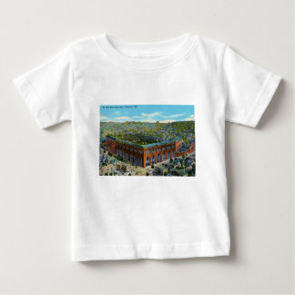 League Park Baseball Stadium Baby T-Shirt