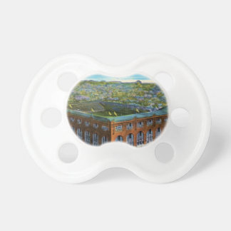 League Park Baseball Stadium Pacifier