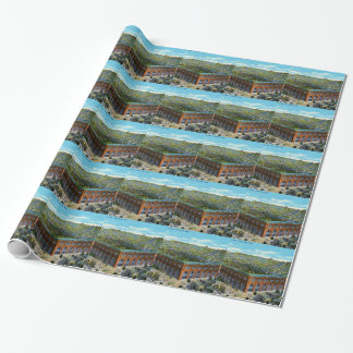 League Park Baseball Stadium Wrapping Paper