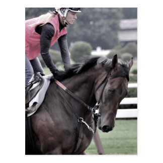 Leah Gyarmati Workouts at Saratoga Postcard