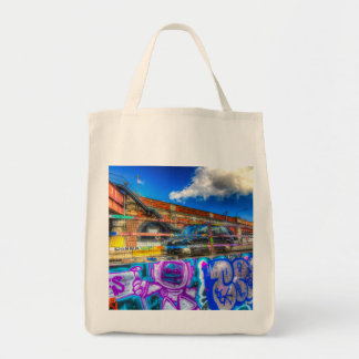 Leake Street and London Taxi Tote Bag