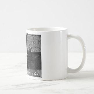 LEAKY SPIGOT RIVER STREET SAVANNAH GA CLASSIC WHITE COFFEE MUG