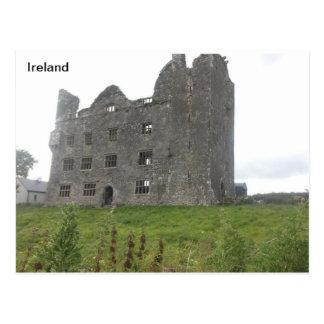 Leamenah Castle, Co Clare, Ireland Postcard