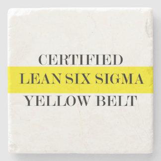 Lean Six Sigma Yellow Belt Coaster
