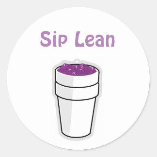 Lean Sticker