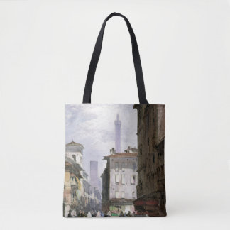 Leaning Tower, Bologna Tote Bag
