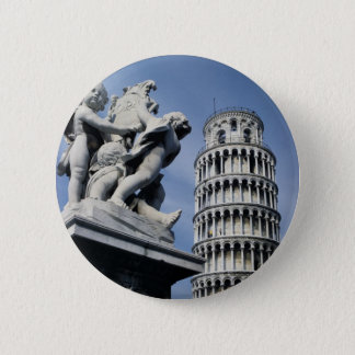 Leaning Tower of Pisa 2 Inch Round Button