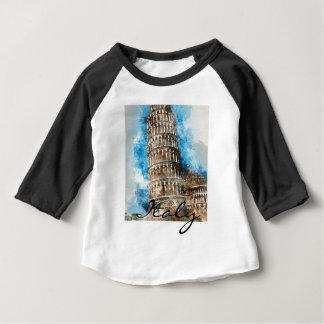 Leaning Tower of Pisa Baby T-Shirt