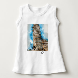 Leaning Tower of Pisa Dress