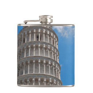 Leaning Tower of Pisa in Italy Flasks