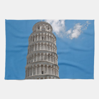 Leaning Tower of Pisa in Italy Hand Towels
