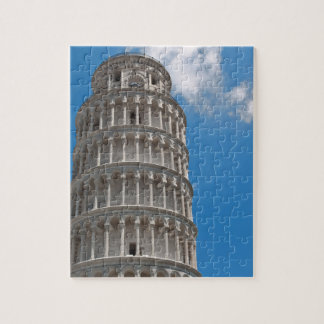 Leaning Tower of Pisa in Italy Jigsaw Puzzle