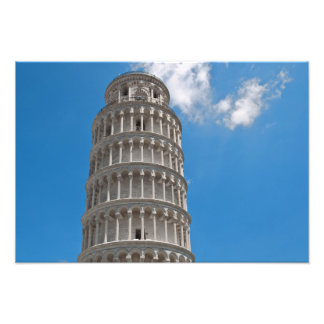 Leaning Tower of Pisa in Italy Photo Print