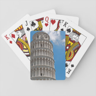Leaning Tower of Pisa in Italy Playing Cards